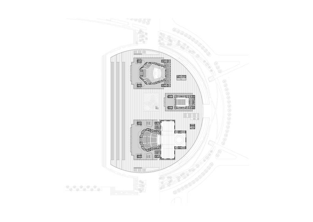 Grand Theater Tianjin China Bauforumstahl E V